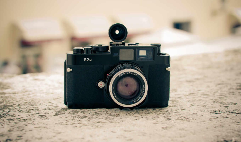 фотоаппарат, объектив, bessa, R2m, ретро, макро