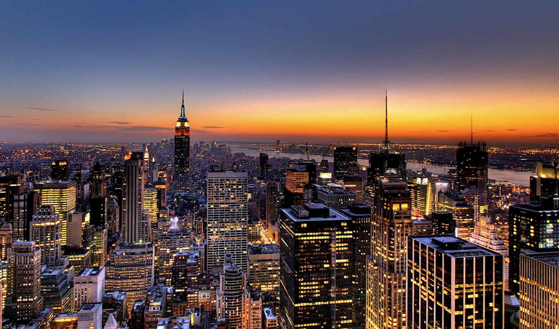 paisajes, que, york, город, new, espectaculares, fotos, del,