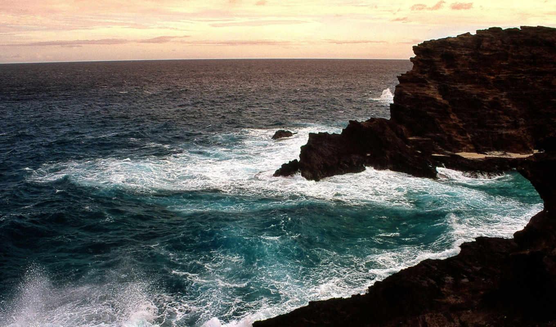 wallpaper, rock, black, coast, desktop, природа, rocky, wallpapers, скалы, hd, nature, and, cove,