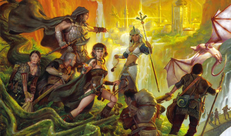 heroes, герои, эльфы, saga, люди, воины, might, magic, книг, игры, vanguard, warrior, game,