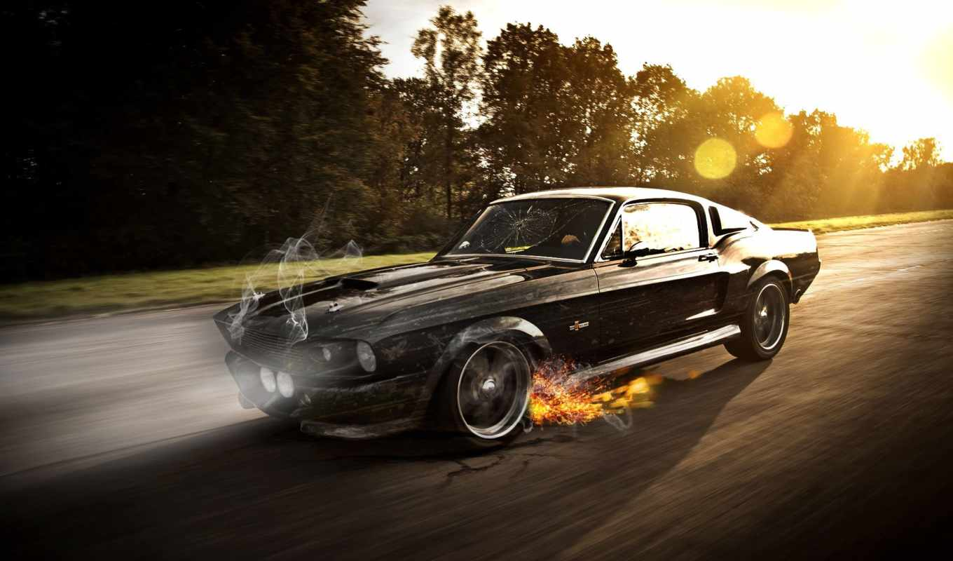 ford, mustang, shelby, eleanor,
