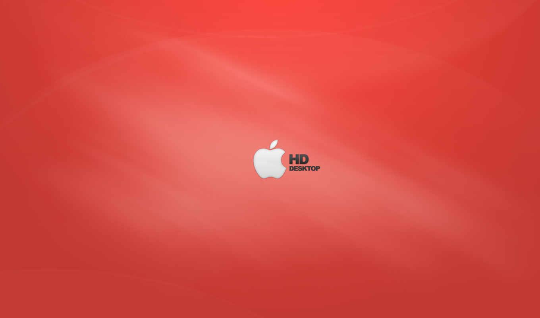 apple, white, red, оранжевый, views, desktop,