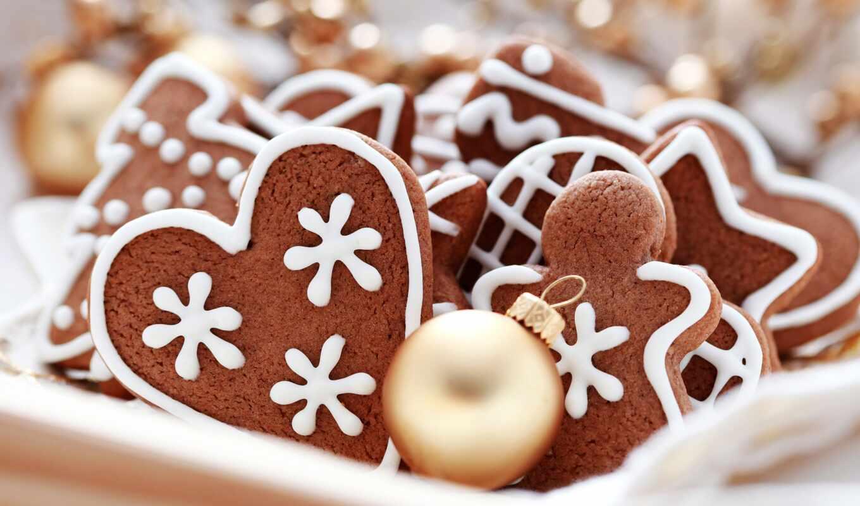 тесто, рецепт, пряник, палуба, time, то, figurine, cut, новый год, cookie
