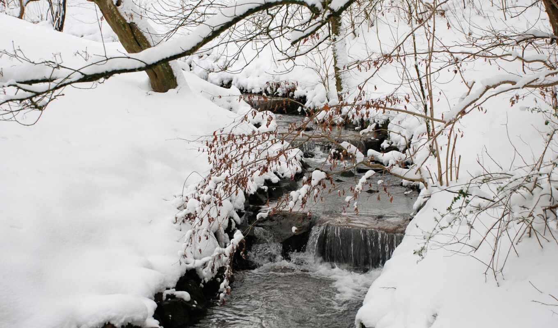 снег, zima, sugrob, les, mobile, дерево, елка, risunok, liveinternet