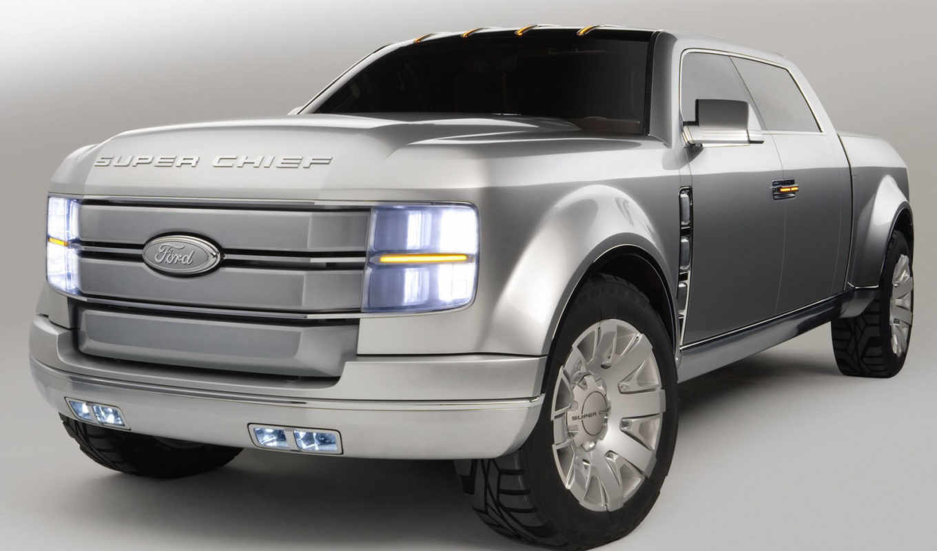 концепт, concept, ford, super, chief, кары, quot,