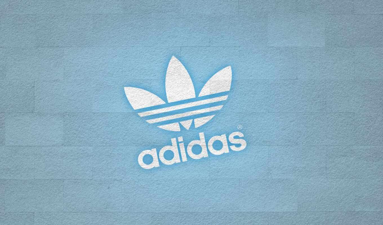 adida, logo, adidas, фон, фирма