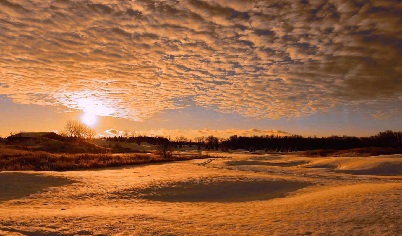 winter, warm, разрешений, отличном, качестве, высоком, природа, закат,