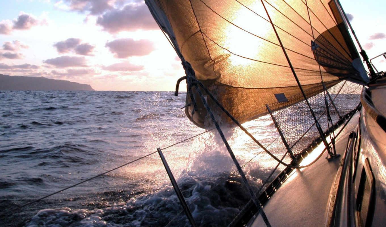 спорта, спорт, отдых, яхта, большое, водные, парусная, парусные, яхты, парусной,