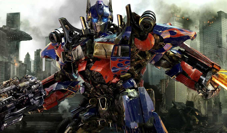 transformers, dark, луна, трансформеры, side, луны, темная,