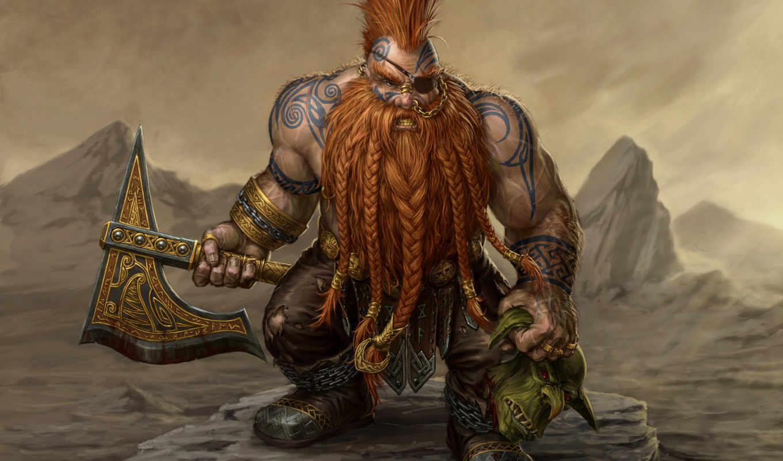 warhammer, игры, online, гном, боевой, age, все, топор, reckoning, гномов,
