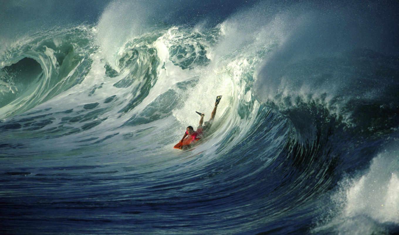surfing, движение, волна, серфер, download,