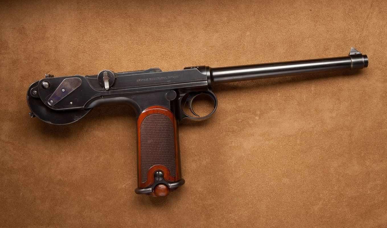 пистолет, Borchardt C93