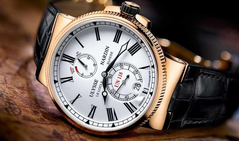 ulysse, nardin, chronometer, marine, часы, manufacture,