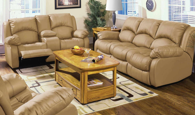 диваны, кожаные, интерьере, интерьер, мебель, диван, гостиной,