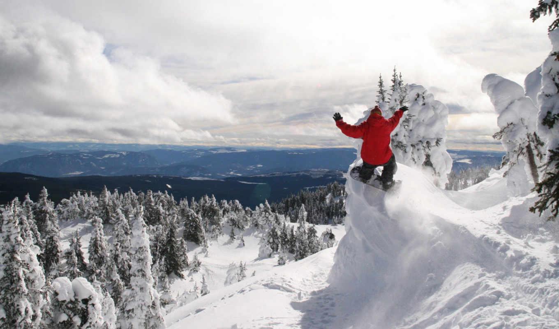 snowboarder, descargar, desktop, snowboarding,