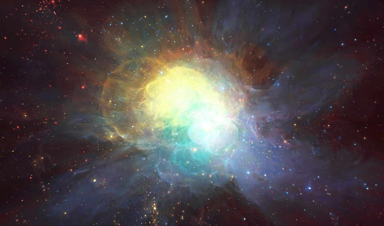 космос, звезды, туманность, арт, картинку, картинка, кнопкой, мыши,