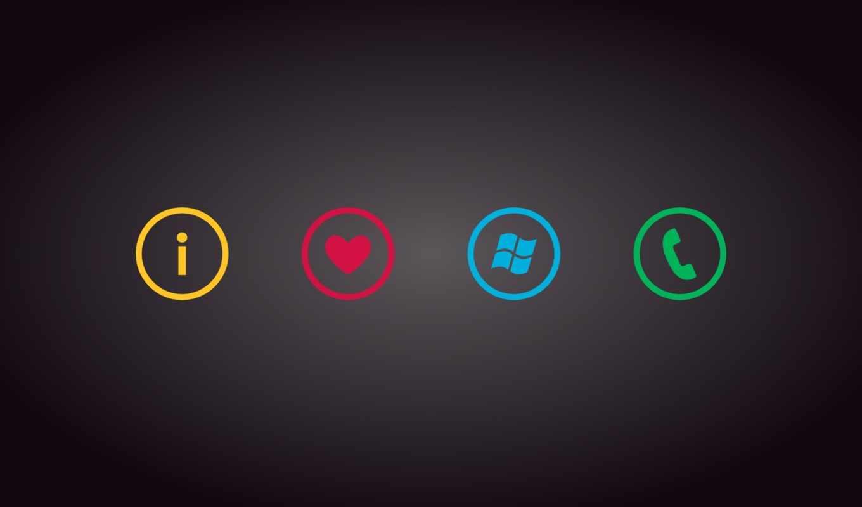 windows, phone, pictures, logo