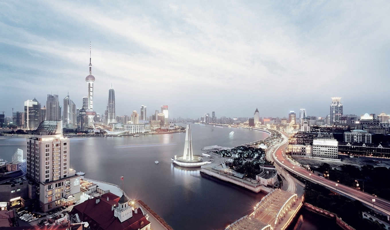 china, shanghai, бизнеса,