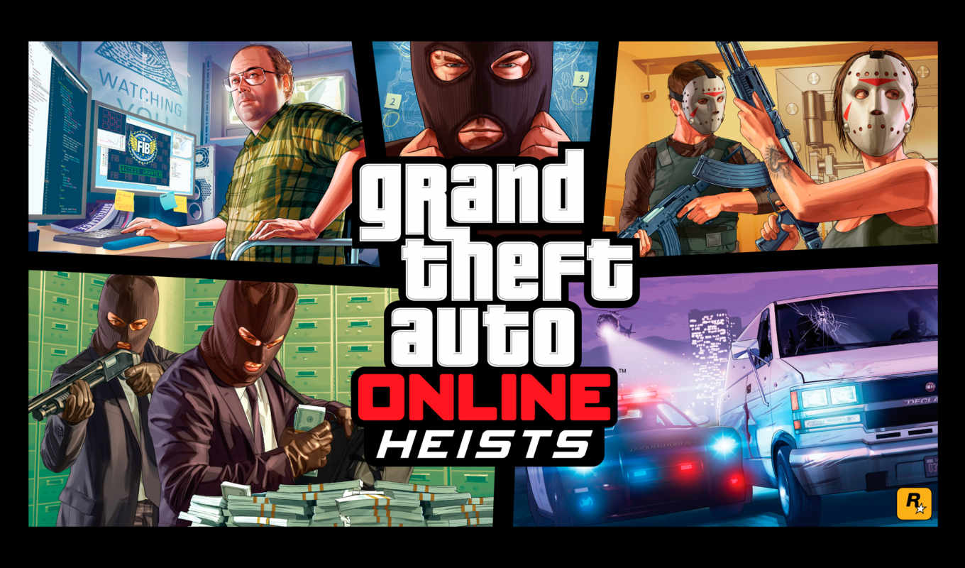 gta, online, heists, trailer, theft, heist, grand, авто,