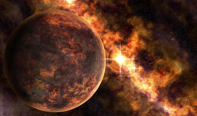 космос, planets, desktop, sharp, outer, led, stars, горизонтали, вертикали, имеет, картинка,