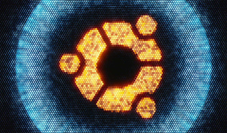 logo, fond, tech, ubunt, system, linux, customization, ос