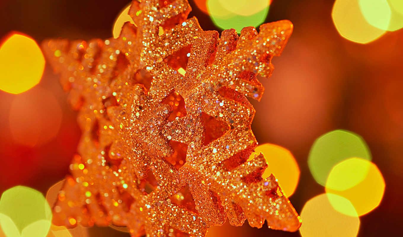 снежинка, блестки, огоньки, christmas, звезда, год, новый, картинка, праздник, рождественская, картинку,