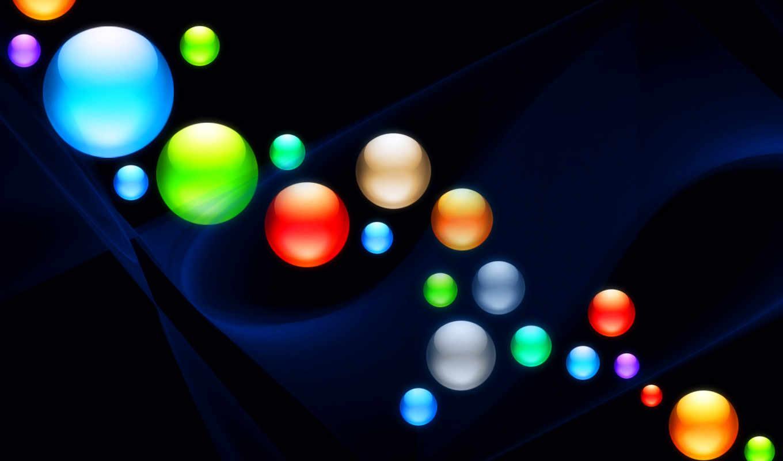 шары, цвета, линии, шарики,