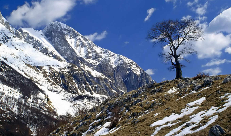 mount, julian, alps, krn, природа, slovenia, stronger, desktop, background, consolidarea, изображение,