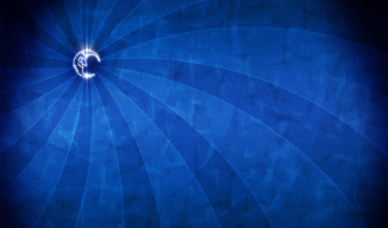 минимализм, луна, синий, dome, vladstudio,
