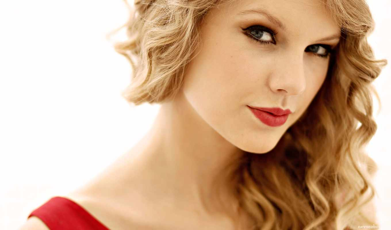 taylor, swift, red, lips,