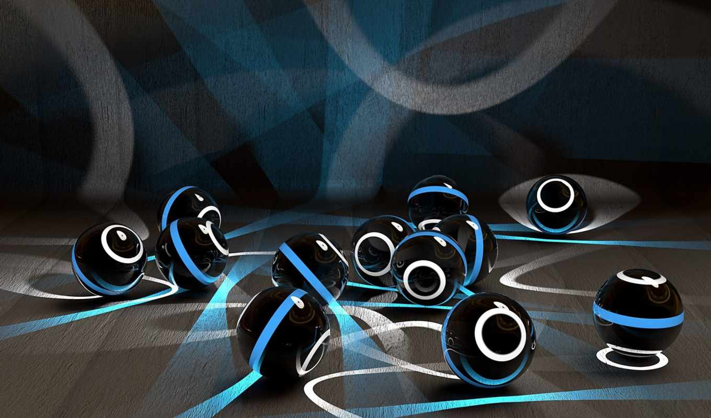 шары, оригинальные, гладь, главная, рендер, shariki, светящиеся, administrator, neon, серый, сферы,