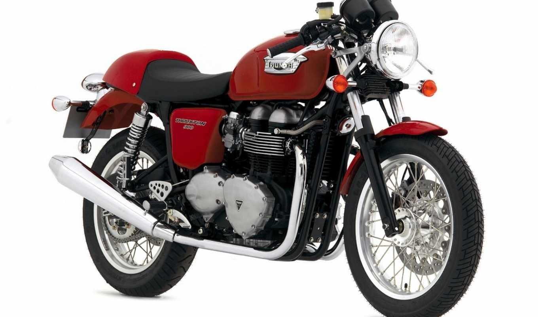 triumph, thruxton, the, bike, мотоциклы, you, это,