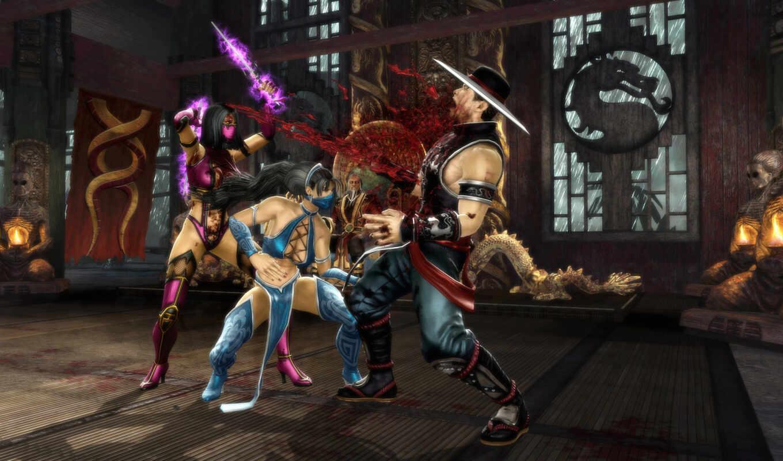 game, ps, is, edition, fighting, mortal, kombat, komplete, screenshot,