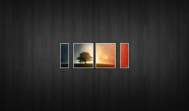 текстура, дерево, кусочки, desktop, минимализм, картинка, смотрите, имеет, горизонтали, вертикали,