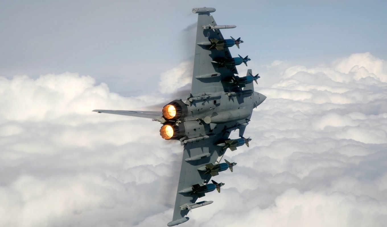 military, aircraft, typhoon, eurofighter, jet, roll, barrel,