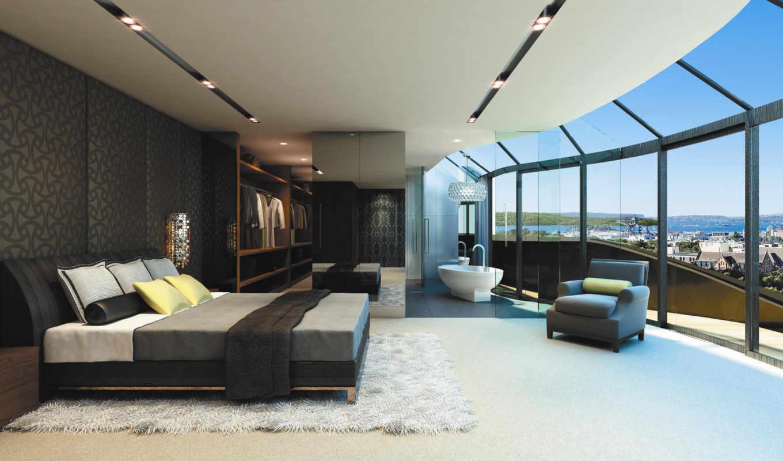 кровать, интерьер, design, стиль, нравится, город,