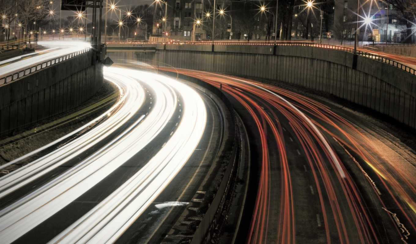 road, ligths, night, traffic, page, картинка,
