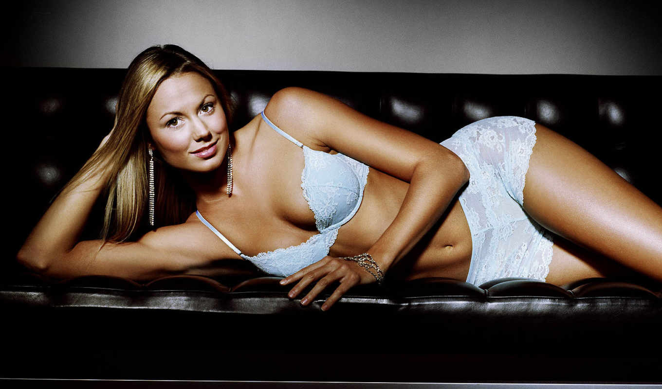 stacy, keibler, белье, clooney, киблер, girlfriend, снялась,