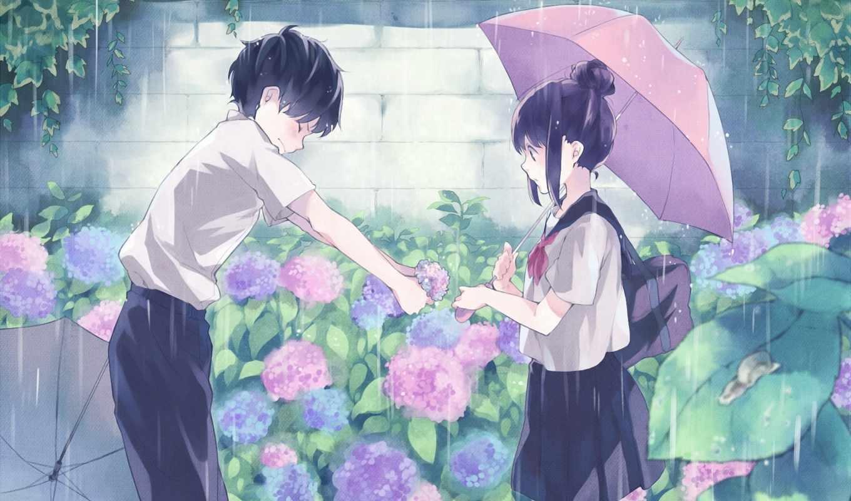 anime, love, об, more, девушка, pinterest, сердце,