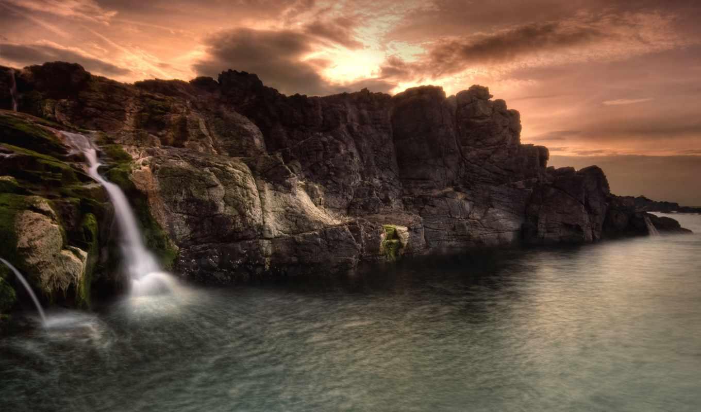 marathi, desktop, природа, скалы, море, natures, romantic, water, актриса,
