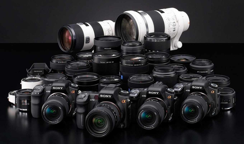 sony, фотоаппарат, объектив