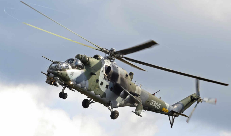 ми, количество, боевой, транспортно, вертолет, авиации,