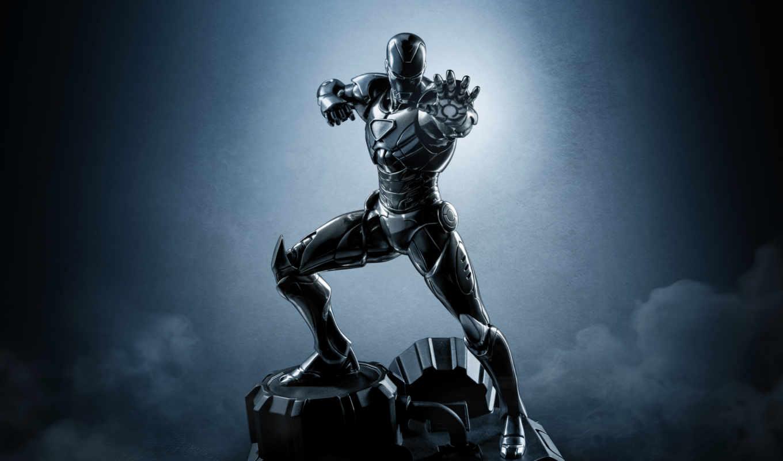 мужчина, iron, black, масть, new, изображение,
