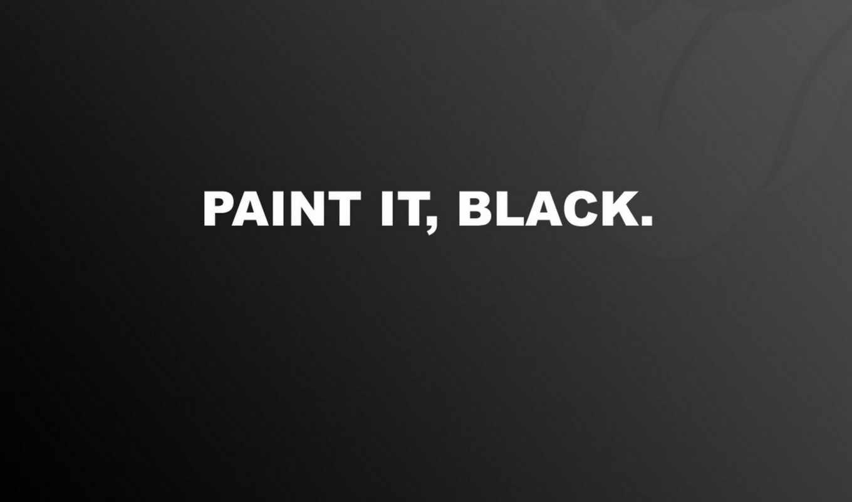 black, paint, черный, обои