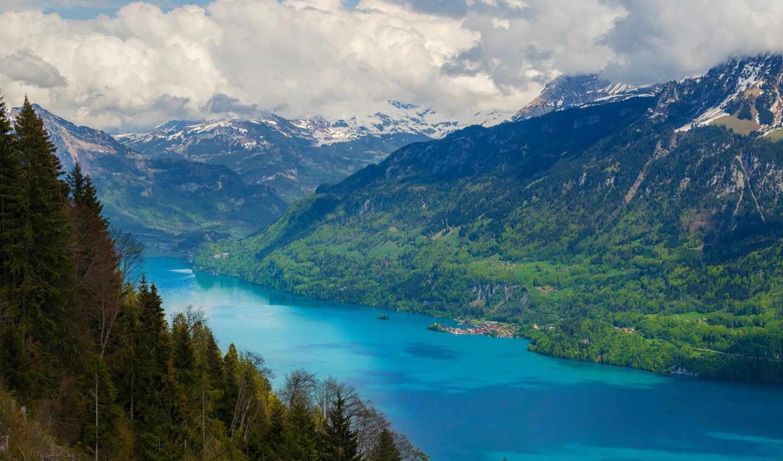 природа, горы, пейзажи -, картинка,