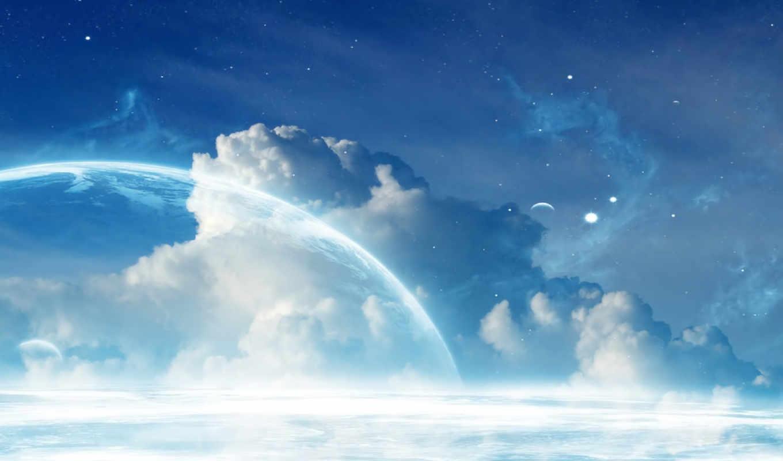 rise, planet, wallpaper,