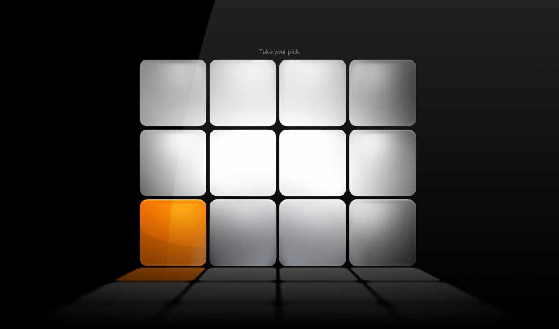 оранжевый, серый, кубики, смотрите, technologymaster, дошла, техника, темы,