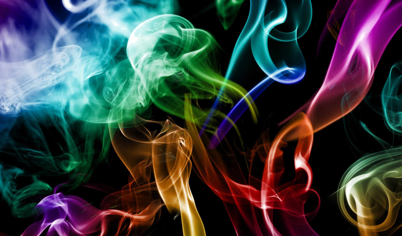 smoke, colorful, цветной, креатив, abstract, абстракция, photos, download,