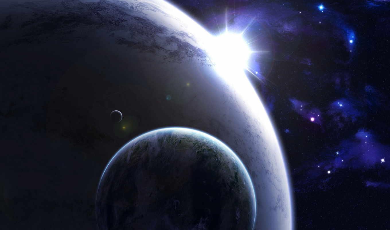 planets, sci, космос, свет, star, planet, stars,
