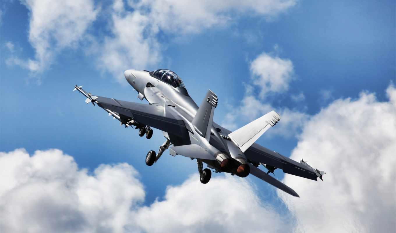 hornet, супер, небо, истребитель, полет, самолёт,